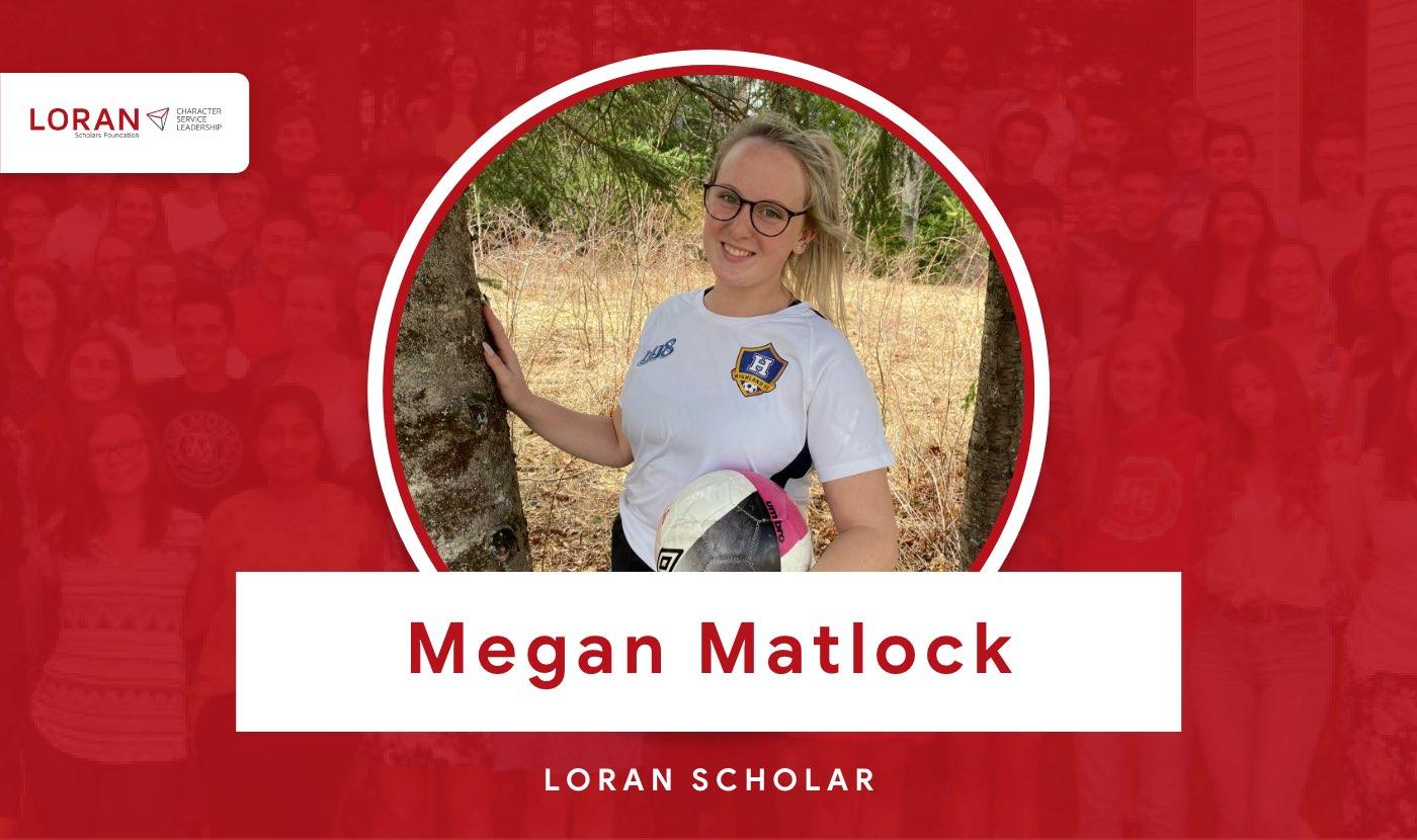 2021 Loran Scholar Megan Matlock