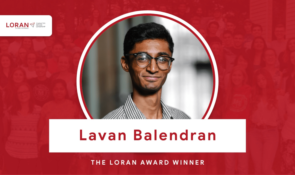 2020 Loran Scholarship Winner