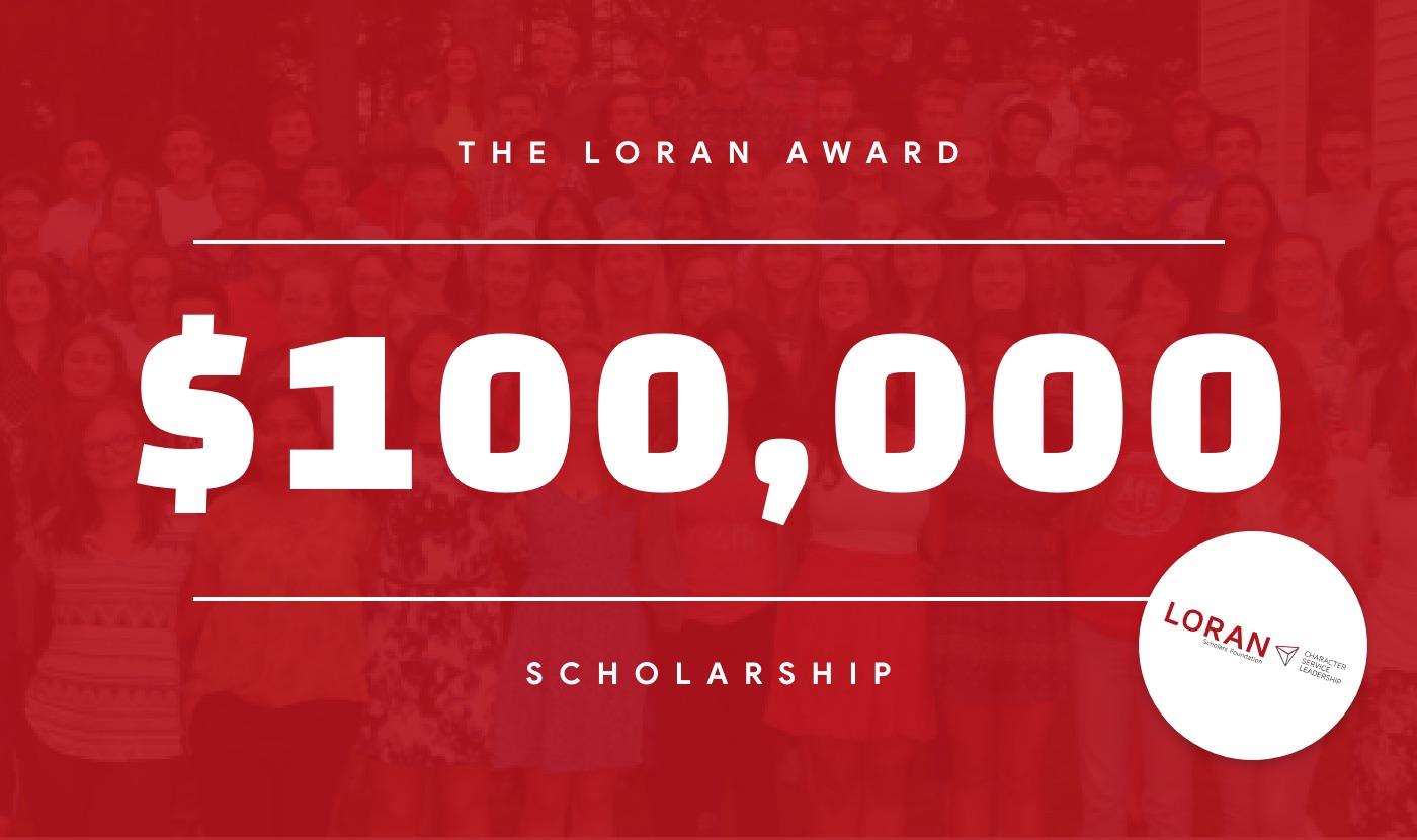 the loran award scholarship