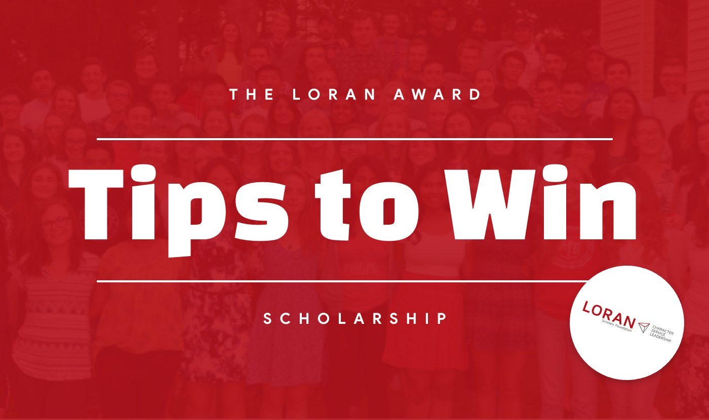 tips to win the loran award