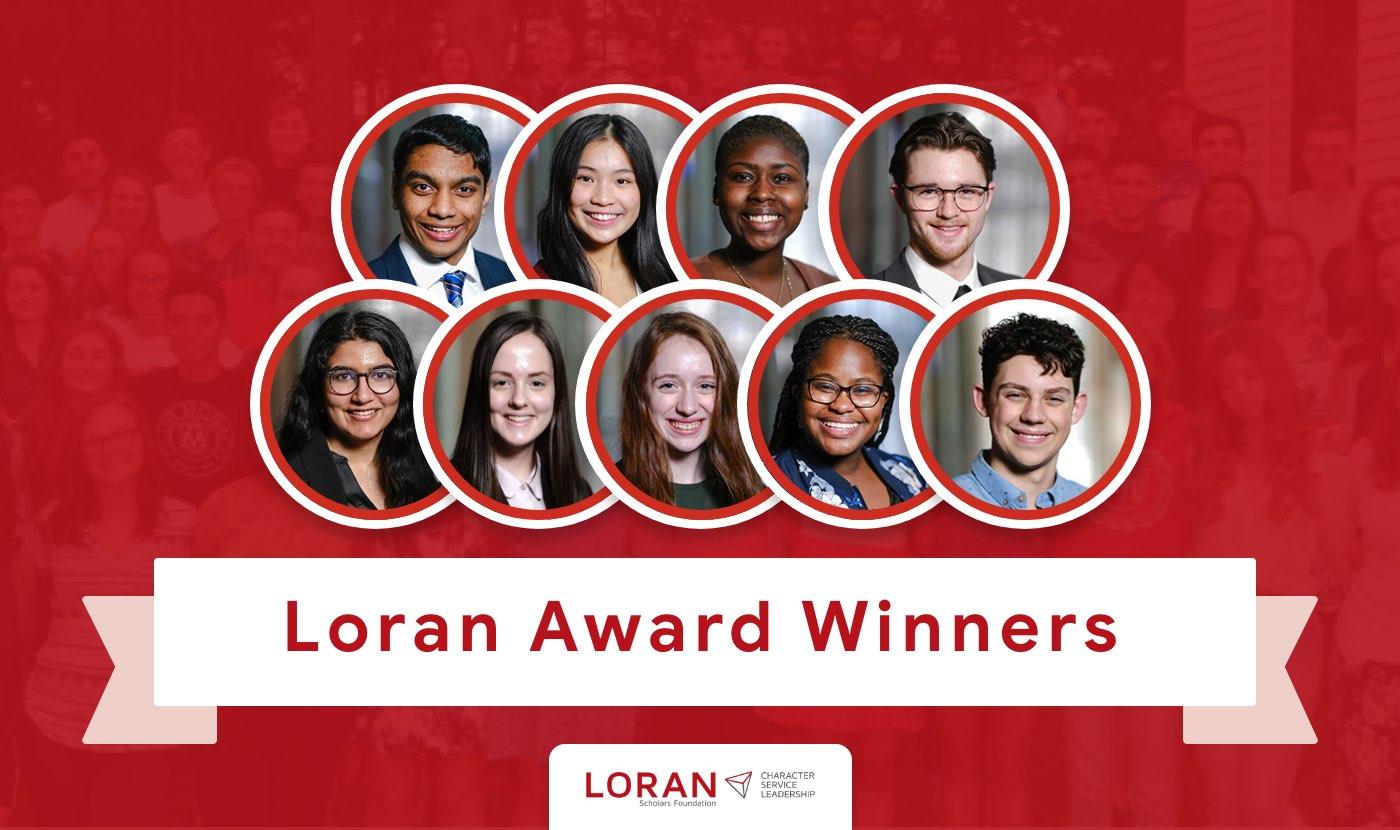 loran award winners