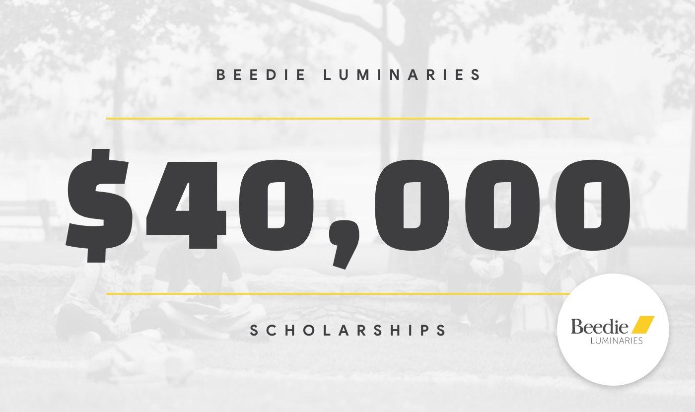 beedie luminaries scholarship