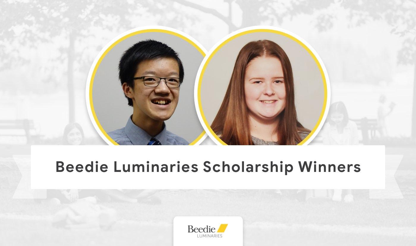 beedie luminaries scholarship winners